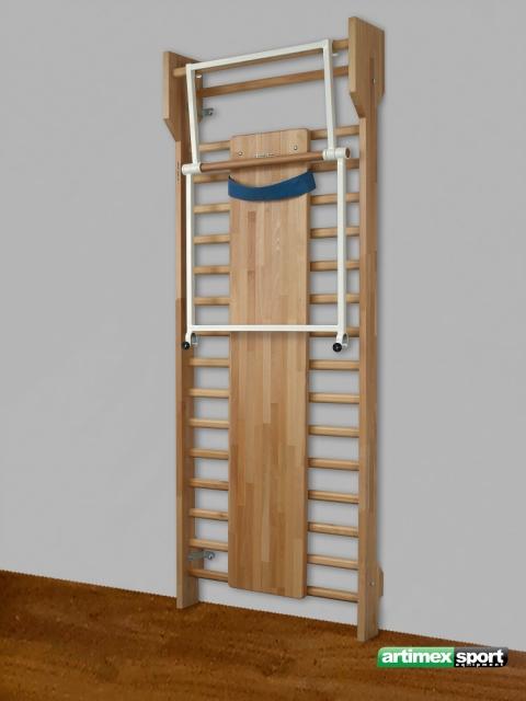 Set Wall Bar Incline Board Pull Up Bar Cod 263 F