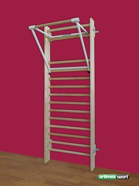 Set Swedish Ladder With Pull Up Bar Cod 259